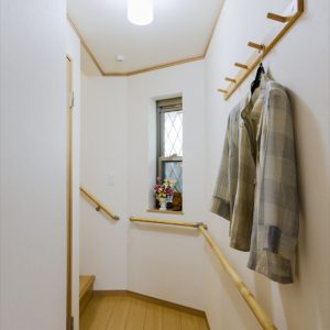 代々の土地で親子孫の3代が仲良く暮らすことが出来る<br>狭小・変形地を最大限に生かす3階建て注文住宅。