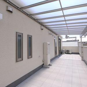 動物病院併用3階建て住宅は、<br>ご来院の方を真剣に考えたデザイン&技術のおもてなし